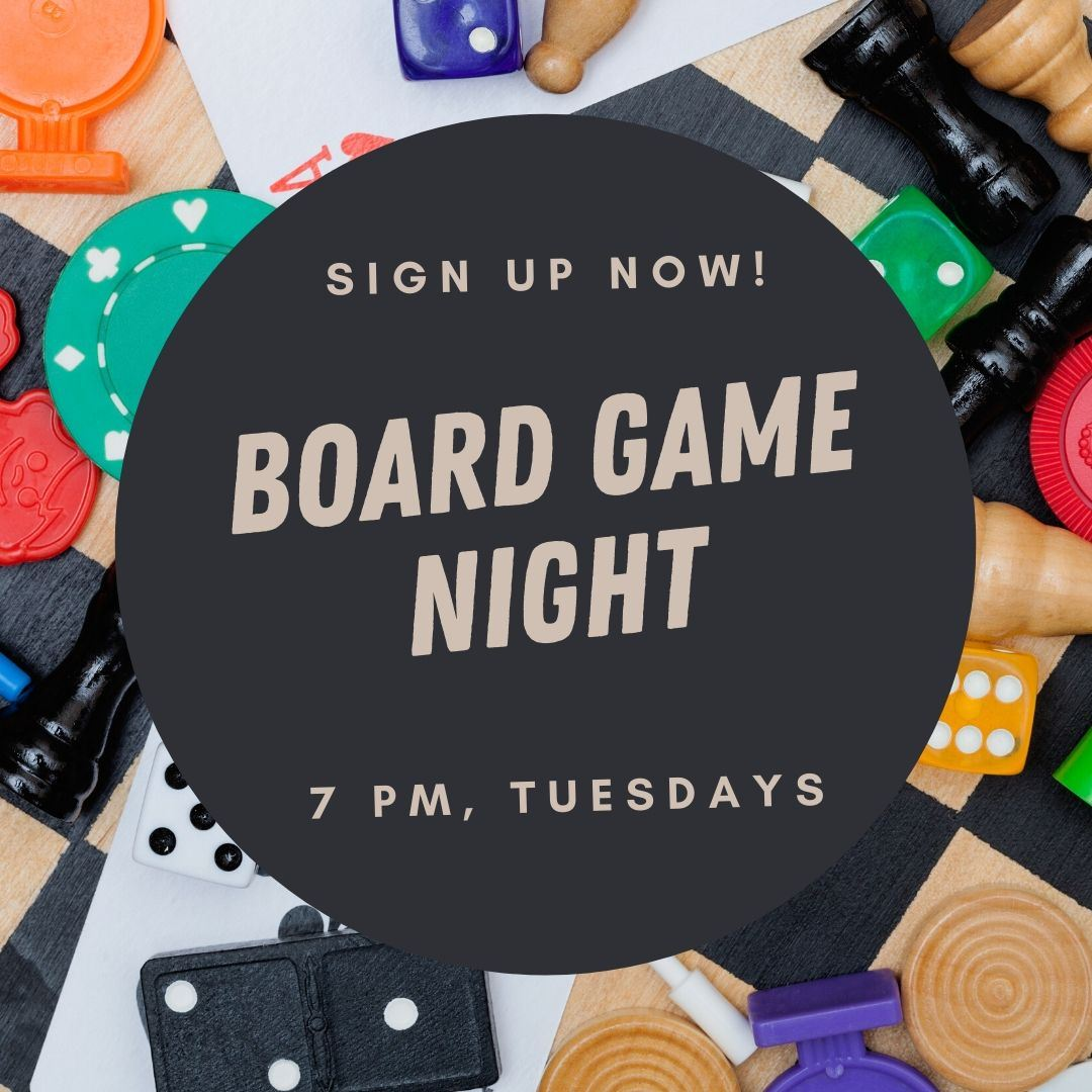 board game night ad Opens in new window