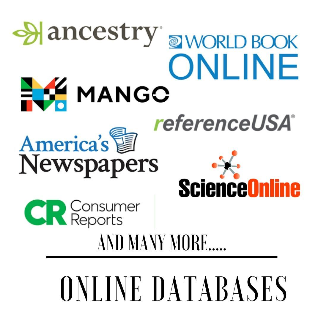 ONLINE DATABASES ad